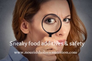 Sneaky food additives