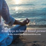Four steps to lower blood pressure