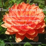 Three steps to less pain, more energy and better health